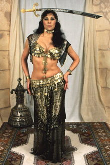 Egyptian Sword Dance costume