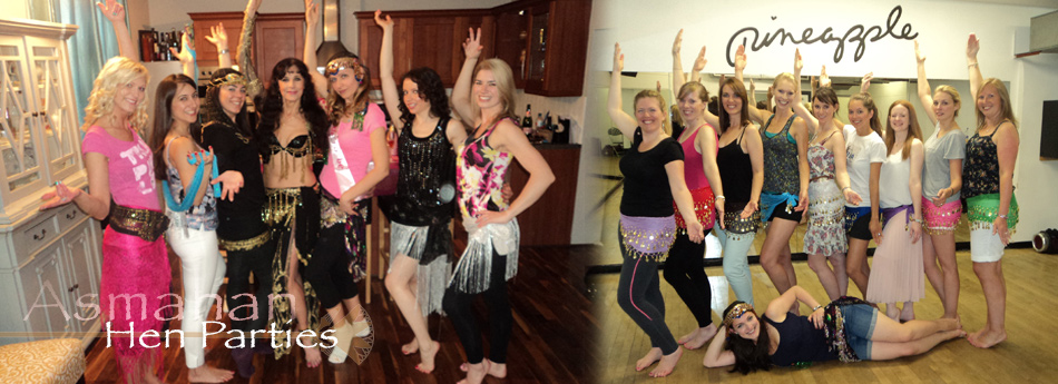 Asmahan Belly Dance Hen Parties in London