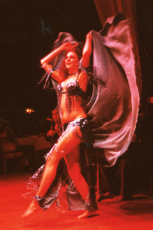 Asmahan London Belly Dance Performance